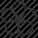 floral, flower, plant, simpor icon