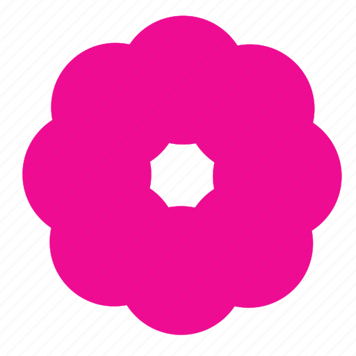 circle, floral, flower, garden, nature, plant icon