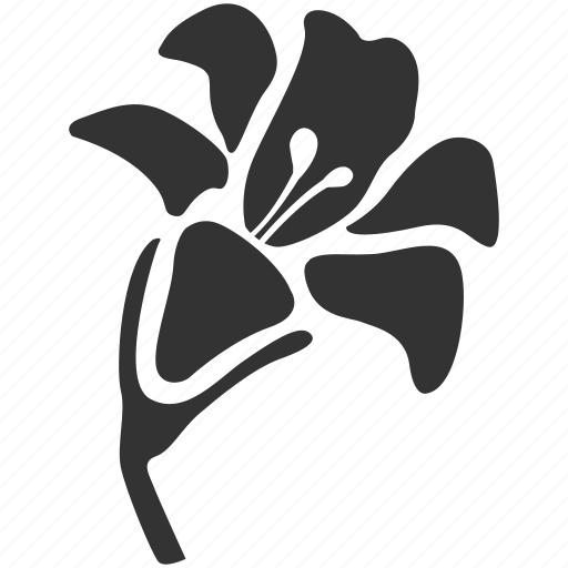 bloom, environment, floral, flower, funeral, lilly, plant icon