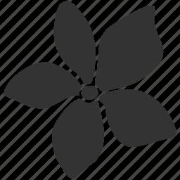 asian, bali, bloom, floral, flower, hawaii, plumeria icon