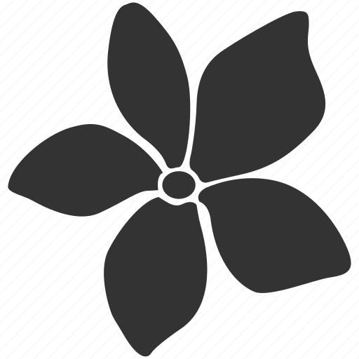 asian, bali, bloom, floral, flower, hawaii, plumeria icon