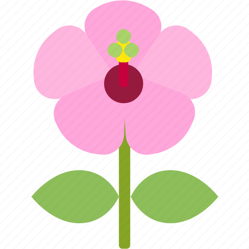 floral, florist, flower, garden, hibiscus, nature icon