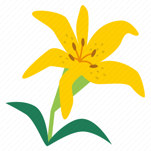 bloom, blossom, floral, flower, flowering plants, lilium, lily icon