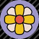 flower, hydrangea quercifolia, oakleaf hydrangea, spring flower icon