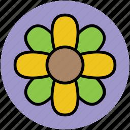 clover, floral, flower, irish clovers, leaves flower, luck flower icon