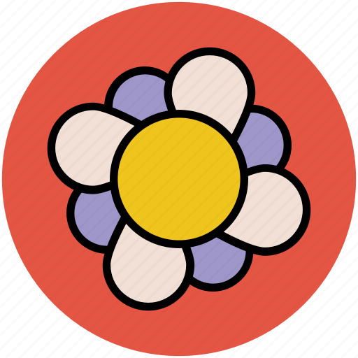 creative, design, flower, flower shape, graphic, pattern, shape icon