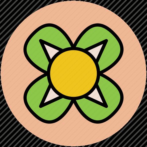 art, beautiful, creative flower, decoration, flower shape, leafs icon