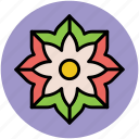 chinese flower, creative shape, decorative, flower, pretty flower icon