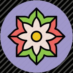 chinese flower, creative shape, decorative, flower, pretty flower icon