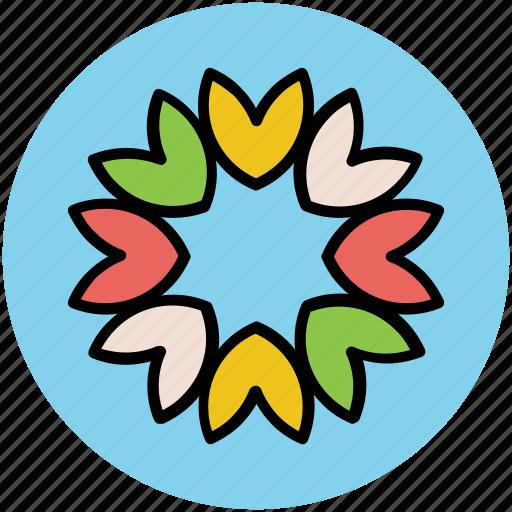 bachelors button, cornflower, flower, wild flower icon
