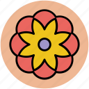 creative, design, flower, flower shape, graphic, pattern, shape icon