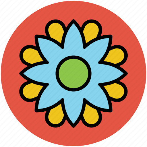 art, beauty, creative flower, flower, flower shape icon