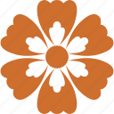 decoration, floral, flower, nature, ornament icon