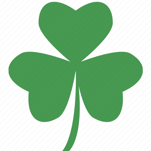 clover, leaf, three icon
