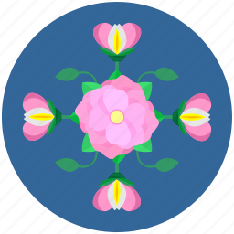 environment, floral, flower, garden, leaves, nature, plant icon