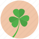 blossom, clover, flower, nature, plant icon