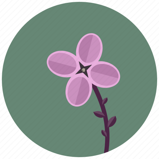 Blossom, flower, lilac, nature, plant icon - Download on Iconfinder