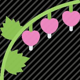 broken, flower, flowers, garden, gardener, heart icon