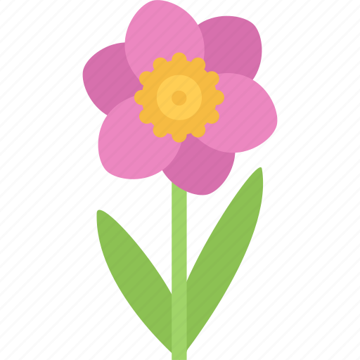 flower, flowers, garden, gardener, narcissus icon
