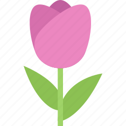 flower, flowers, garden, gardener, tulip icon