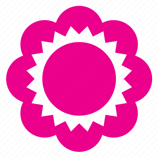 abstract, bloom, floral, flower, garden, nature, shape icon