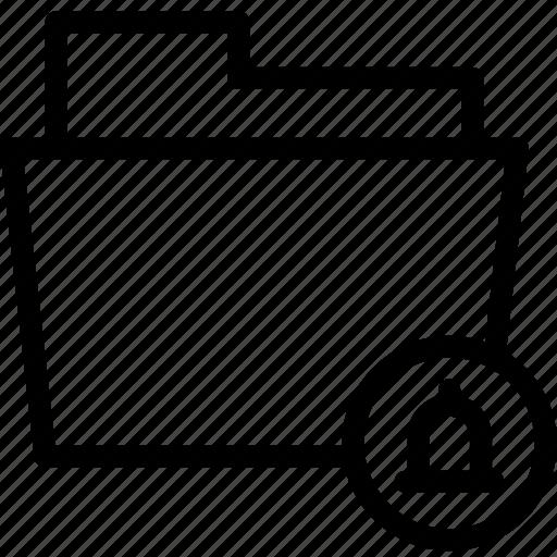 Alert, data, document, file, folder, notification, files icon - Download on Iconfinder