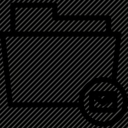 Data, document, email, envelope, file, folder icon - Download on Iconfinder