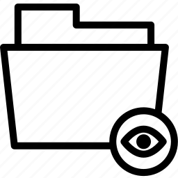 data, document, file, folder, hidden, hide icon