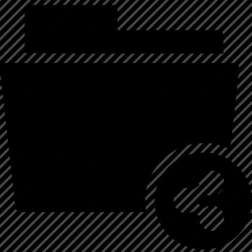 data, document, file, folder, share, shared icon