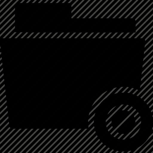 data, denied, document, error, file, folder icon