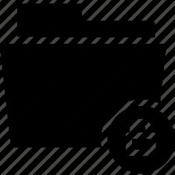 data, document, file, folder, lock, locked, secret icon