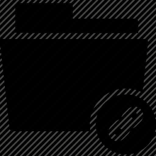 data, document, file, folder, link, links icon