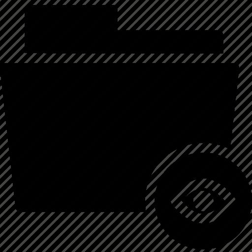 Data, document, file, folder, hidden, hide icon - Download on Iconfinder