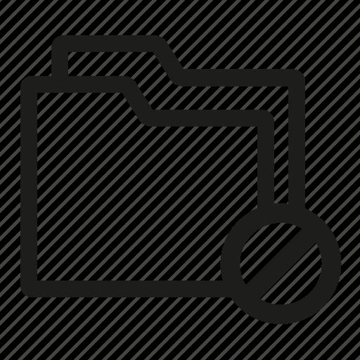 access, folder, no icon