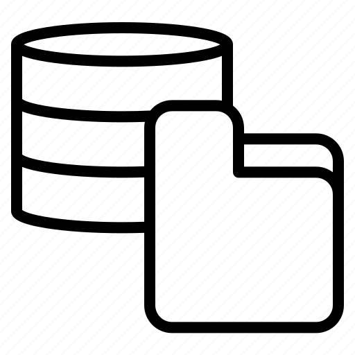 Database, document, file, folder icon - Download on Iconfinder