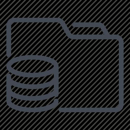 Archive, data, database, file, folder, server, storage icon - Download on Iconfinder