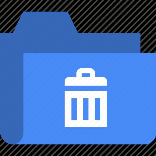 delete, document, file, folder, remove, trash icon