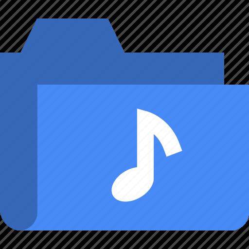 document, file, folder, music icon