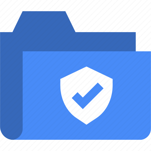 document, file, folder, protect, secure, security icon
