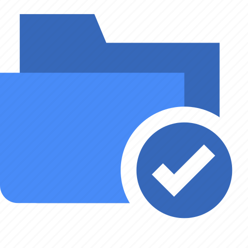 check, document, done, file, folder icon