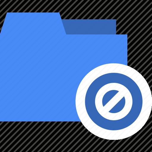 disable, document, error, file, folder, lock icon