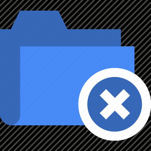 cancel, document, error, file, folder, remove icon