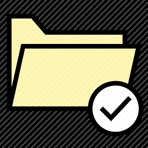 access, correct, document, file, folder, ui icon