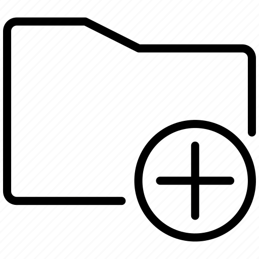 add, create, creation, cross, make, new, new folder, plus icon