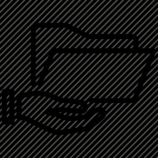 Book, catalog, folder, offer, public, share, shared icon - Download on Iconfinder