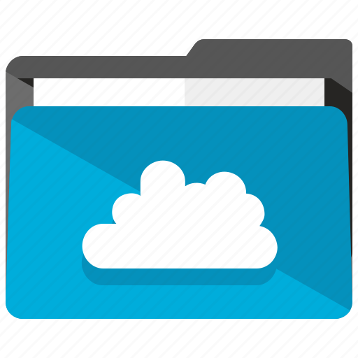 archive, cloud, communication, folder, share icon