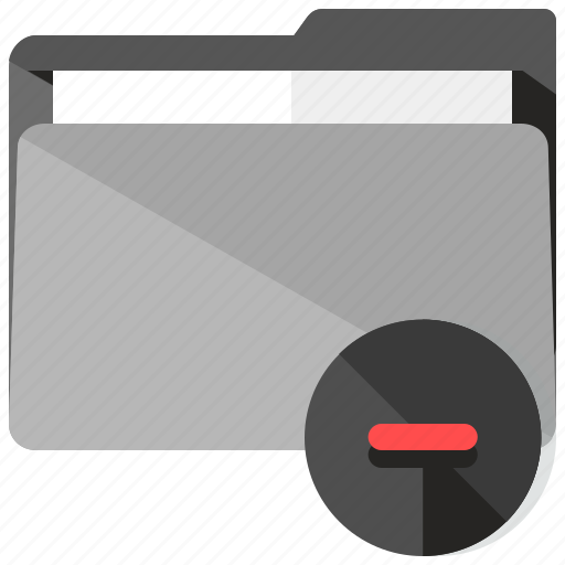 archive, close, delete, folder, remove icon
