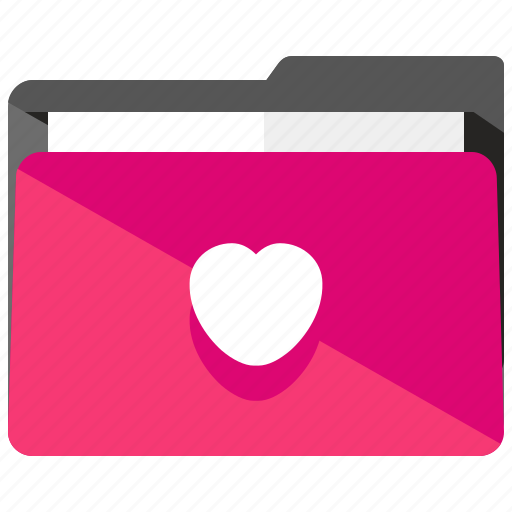 archive, favourite, folder, heart, like, love icon