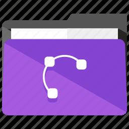 archive, design, folder, graphic, shapes icon