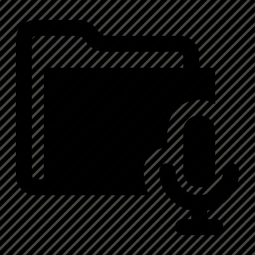 audio, folder, media, multimedia, music, watchkit icon